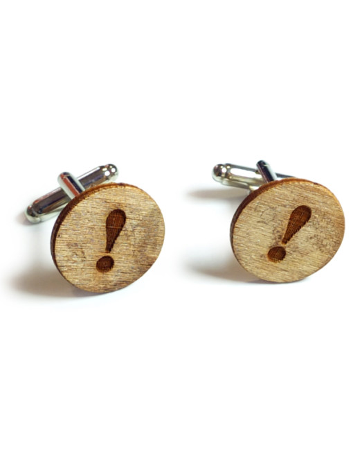 Exclamation Cufflinks