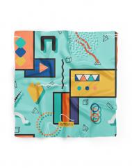 Bowtieswala Pocket Square Abstract Shapes