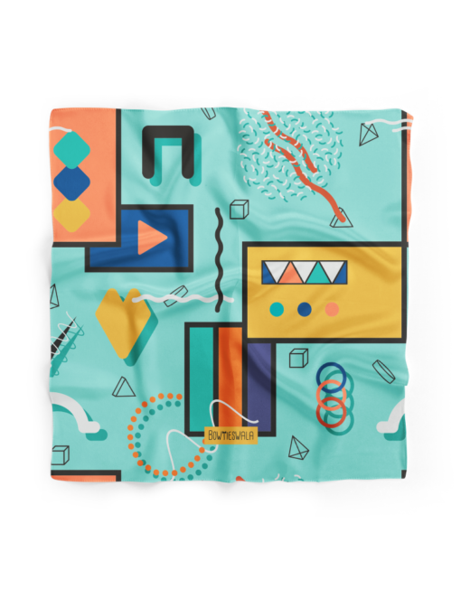 Bowtieswala Pocket Square Abstract Shapes