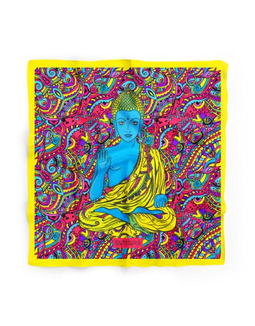 Bowtieswala Pocket Square Buddha