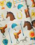Bowtieswala Pocket Square Equestrian