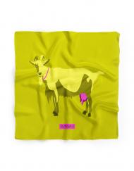 Bowtieswala Pocket Square Techno Goat