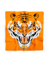 Bowtieswala Pocket Square Tiger