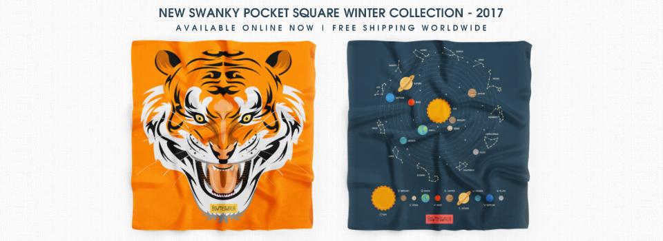 New Swanky Pocket Squares